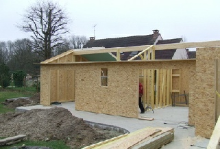 Maisons bois en kits pr mont s ou en kits conomiques - Agrandissement bois prix m2 ...